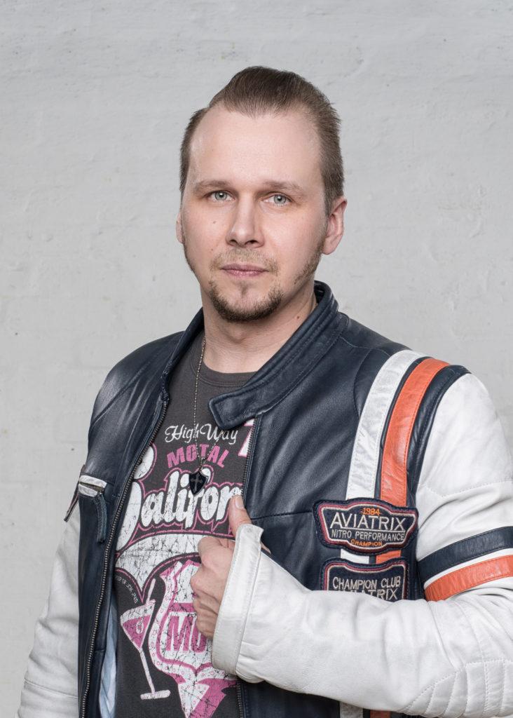 Arttu Stenius Renki Renkiband Rumpali